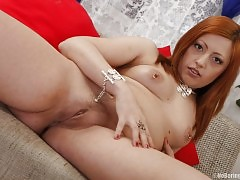 Toy Fucking Redhead