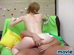 Horny teen penetrated
