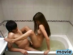 Sex with teen in the bathroom