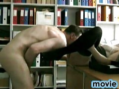 Secretary cock sucking